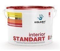 Водно-дисперсионная краска Kolorit Interior Standart 10 л