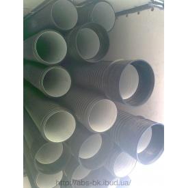 Труба для дренажа SN8 из ПЕ 500 мм 6 м