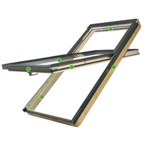 Мансардне вікно FAKRO FYP-V U3 proSky 78х140 см