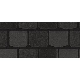 Бітумна черепиця CertainTeed Highland Slate 337х984 мм Black Granite