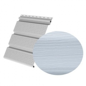 Софіт Royal Europa Royal Soffit blue gray перфорований 3660х340 мм