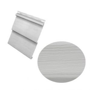 Сайдинг вініловий Royal Europa Grandform gray з одним зламом