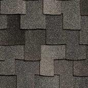 Битумная черепица Owens Corning Woodcrest AR 1016х362 мм Granite