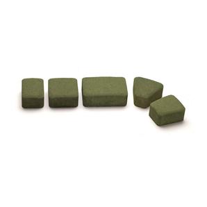 Тротуарная плитка Авеню Римский Камень К-6 тайга 109х118х60 мм