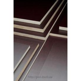 Ламинированная фанера березовая гладкая/гладкая 2500x1250x6 мм