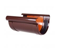 Соединитель желоба с вкладкой Profil 90 мм