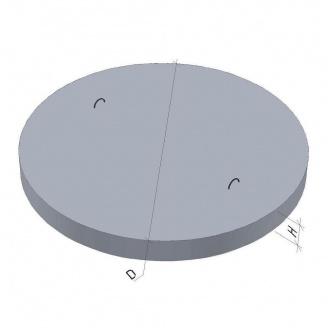 Дно для колодязя ПН 15 ТМ «Бетон від Ковальської» 2030х120 мм