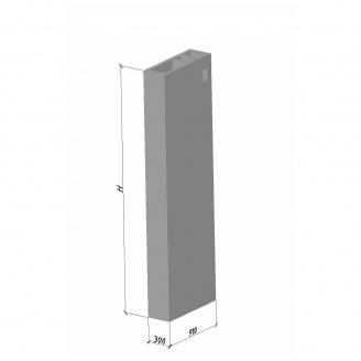 Вентиляційний блок ВБВ 33 ТМ «Бетон від Ковальської» 910х300х3280 мм