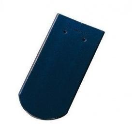 Керамічна черепиця Tondach Бобровка ОК Австрія 400х190 мм темно-синя