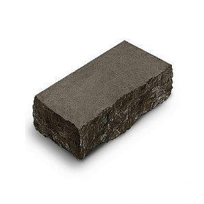 Фасадный камень угловой Авеню Декор Рустик 225х100х65 мм габбро