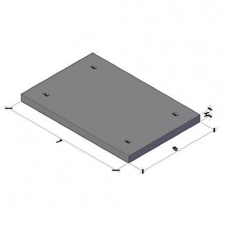 Дорожная плита ПДС 3x2x0,16 м