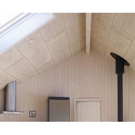 Панель з деревної вовни Troldtekt Natural Wood K0 600х600х25 мм