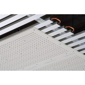 Перфорированный гипсокартон Knauf-Acoustic ППГЗ-С2-12/25 КВ-4ПК 2000х1200х12,5 мм