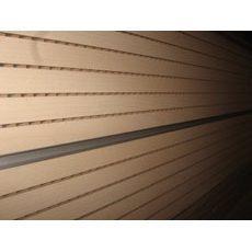 Перфорована шпонована панель з MDF Decor Acoustic 30/2 2400х576х17 мм дуб