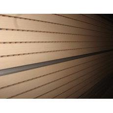 Перфорована шпонована панель з MDF Decor Acoustic 14/2 2400х576х17 мм венге