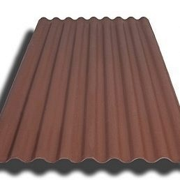 Керамопласт Волна 900х2000 мм коричневый
