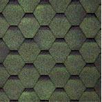 Битумная черепица TILERCAT Прима 1000х317 мм зеленая