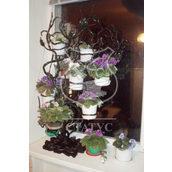 Підставка кована для квітів