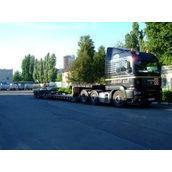 Перевозка длинномерных грузов тралом MAN 40 т
