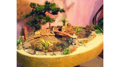 Відкритий мініатюрний сад