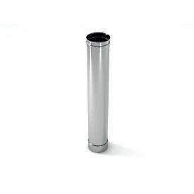 Труба дымохода в кожухе из нержавейки 190x1000 мм