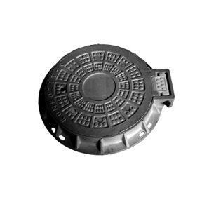 Люк композитный канализационный С (В125) 12,5 т (14.04)