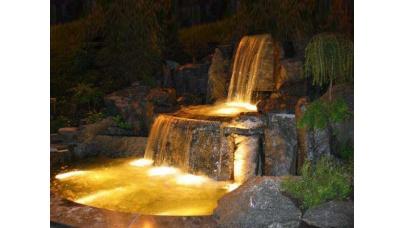 Декоративне освітлення саду своїми руками