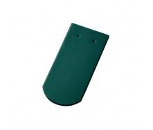 Керамическая черепица Tondach Бобровка ОК Словения 400х190 мм темно-зеленая
