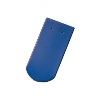 Керамическая черепица Tondach Бобровка ОК Словения 400х190 мм светло-синяя