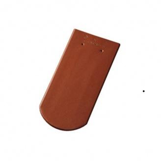 Керамическая черепица Tondach Бобровка ОК Словения 400х190 мм медно-коричневая