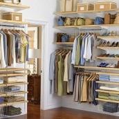 Виготовлення меблів для гардеробної кімнати на замовлення
