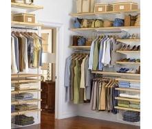 Изготовление мебели для гардеробной комнаты на заказ