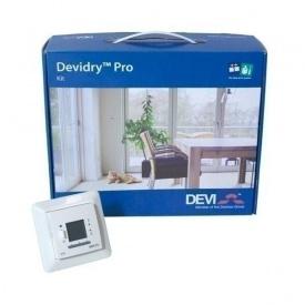 Набор для управления нагревательными матами Теплый пол DEVI DEVIdry Kit