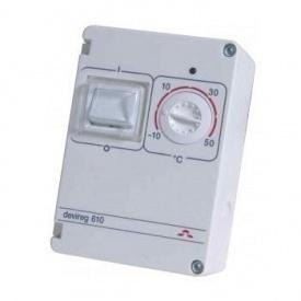 Терморегулятор герметичный DEVI DEVIreg 610 0,93 Вт