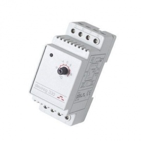 Терморегулятор электронный на шину DIN DEVI DEVIreg 330 0,25 Вт (140F1072)