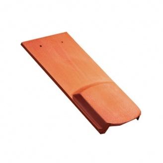 Черепица керамическая вентиляционная Tondach Бобровка ОК Австрия 400х190 мм красная