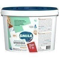 Шпаклівка SMILE SP-15 фінішна 5 кг