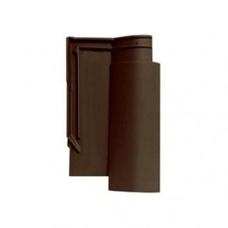 Черепиця керамічна Tondach Венера Хорватія 290х485 мм коричнева