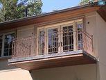 Кованые решетки для ограждения балкона