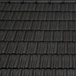 Керамічна черепиця бічна половинчаста Танго плюс Угорщина 170х500 мм чорна