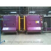 Склопакетна лінія Lisec 1600*4000 з газовим тандемним пресом і роботом герметизації