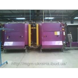 Стеклопакетная линия Lisec 1600*4000 с газовым тандемным прессом и роботом герметизации