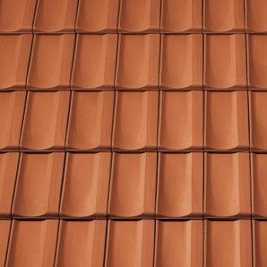 Керамічна вентиляційна черепиця Tondach Болеро Угорщина 300х500 мм мідно-коричнева