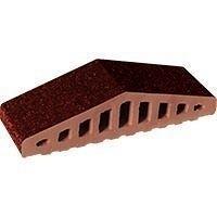Профильный кирпич King Klinker КО 310*250*100*78 мм коричневый глазурованный