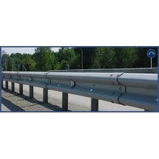 Дорожное ограждение без покрытия 11ДД-2 312x83x4,0x4320 мм