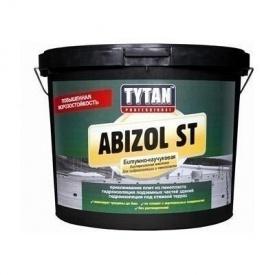 Битумно-каучуковая дисперсионная мастика TYTAN Professional Abizol ST для гидроизоляции и клейки пенополистирола 18 кг