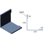 Планка зовнішнього кута САВ ПНУ-01 цинк 2000х220 мм
