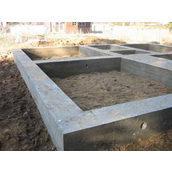 Влаштування збірного фундаменту з бетонних блоків