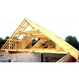 Устройство деревянной стропильной конструкции