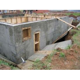 Возведение монолитной стены из армированого бетона